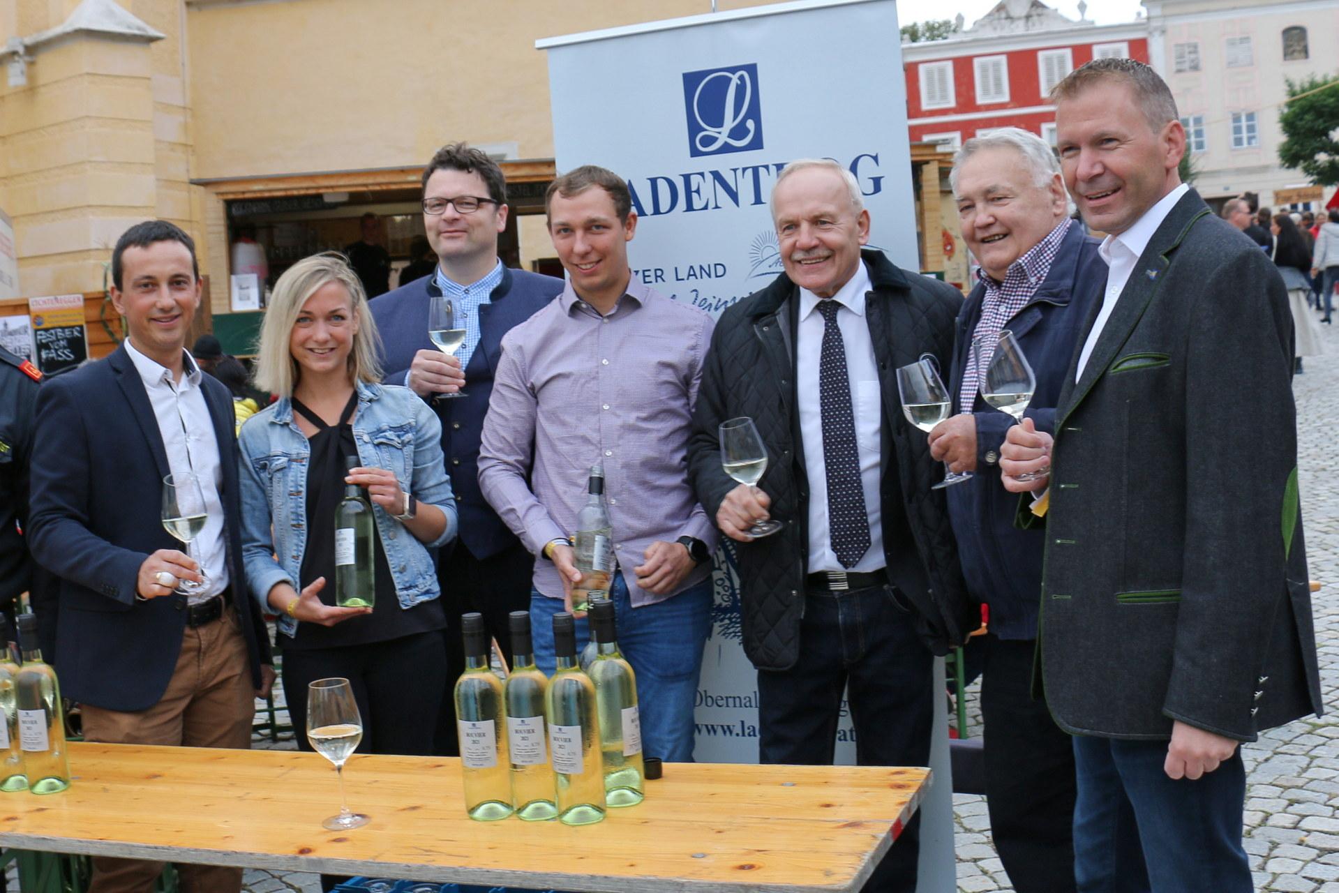 Eröffnung vom Weinlesefest Retz 2021